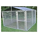Stephens Pipe & Steel DKR10100 Kennel Roof 10 x 10 Ft. Quick Shelter Kit