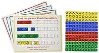 [ダイダックスエデュケーショナルリソース]Didax Educational Resources Unifix Attribute Pattern Kit 211304 [並行輸入品]