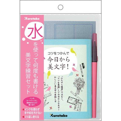 [해외]Amazon.co.jp 한정 쿠레 타케 물을 사용하여 여러 번 쓸 아름다움 문자 연습 세트 DAW100-9 parent/Amazon.co.jp Limited beauty letter practice set that you can write many times with Okutake water DAW 100-9 parent