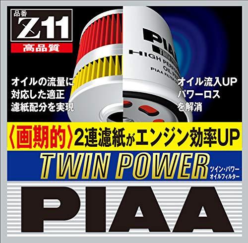 PIAA ツイン・パワーオイルフィルター Z11