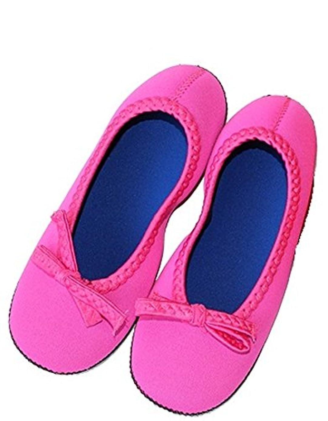 ピンポイントいろいろデコレーションクロッツルームシューズ デラックス ピンク S