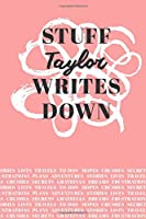 Stuff Taylor Writes Down: Personalized Journal / Notebook (6 x 9 inch) with 110 wide ruled pages inside [Soft Coral]