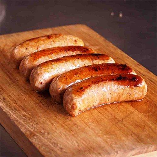 手作り生ソーセージ (スパイシー) (無添加・砂糖不使用) BBQ用 5本 約500g