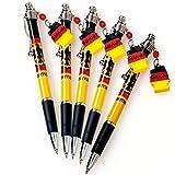 ドイツ 土産 ドイツ国旗 ボールペン 5本セット (海外旅行 ドイツ お土産)