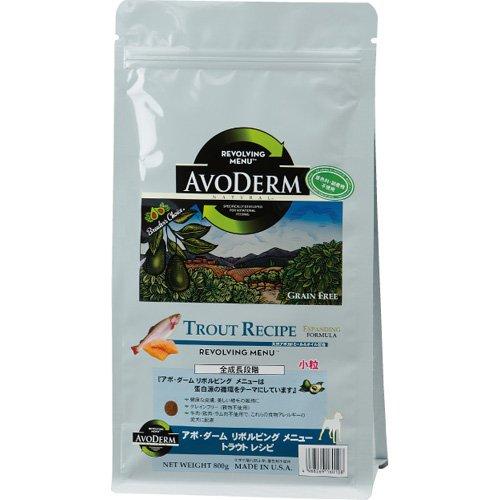 アボ・ダーム (AVODERM) リボルビングメニュー トラウトレシピ 2.4kg