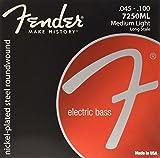 Fender フェンダー エレキベース弦 NPS RW LS 7250ML 45-100