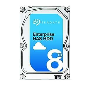 Seagate シーゲイト 内蔵ハードディスク Enterprise NAS HDD 8TB ( 3.5 インチ / SATA 6Gb/s / 7200rpm / 256MB / 5年保証) 正規輸入品 ST8000NE0001