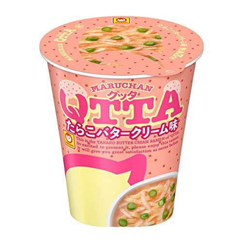 MARUCHAN QTTA(クッタ)たらこバタークリーム味の通販の画像