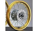 ヤマハ リアホイールASSY ゴールド XT250 SEROW 3C5-25302-00-...