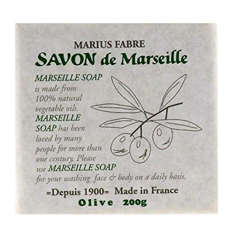 ナイロン雑品対抗サボンドマルセイユ 無香料 オリーブ 200g