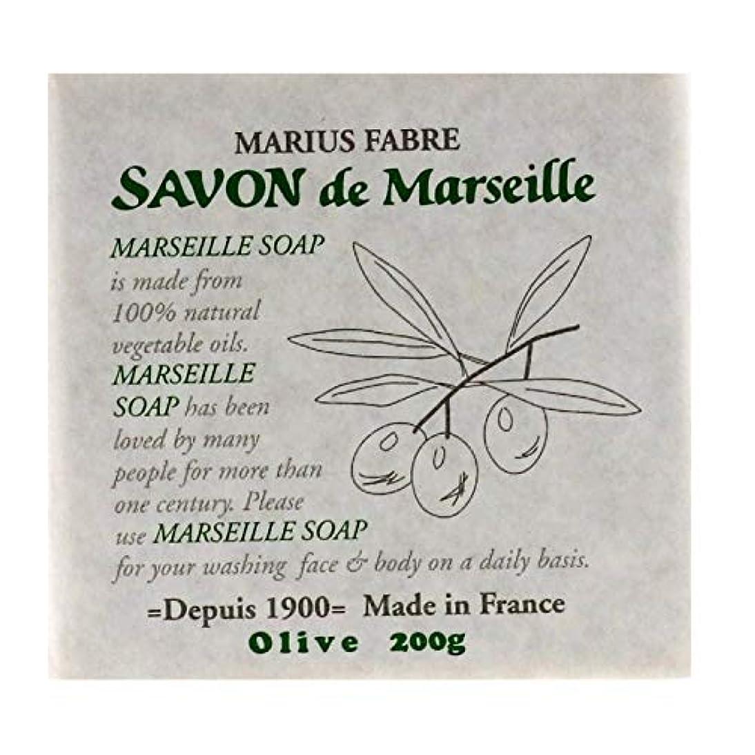 たとえ凶暴な急襲サボンドマルセイユ 無香料 オリーブ 200g
