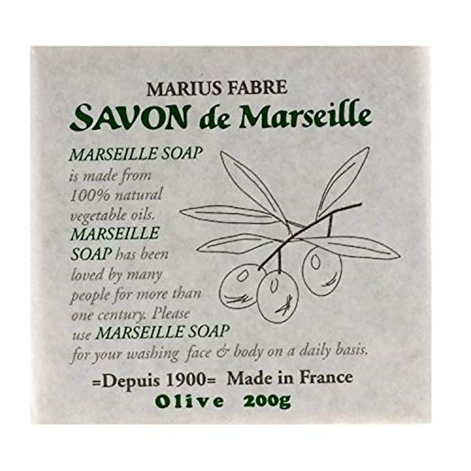 ガラガラ激怒老人サボンドマルセイユ 無香料 オリーブ 200g