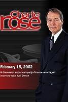 Charlie Rose with Norman Ornstein & E.J. Dionne; Judi Dench (February 15 2002)【DVD】 [並行輸入品]
