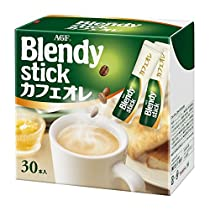 AGF ブレンディ スティック カフェオレ 30本