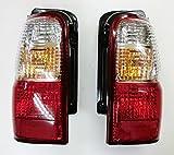 【代引き出荷可能】トヨタ ハイラックスサーフ185系/クリスタルテールライト(クリア&レッド) 左右セット新品