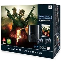 PLAYSTATION 3 (80GB) バイオハザード5 プレミアムリミテッドBOX (クリアブラックオリジナルロゴ) 【メーカー生産終了】