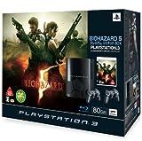 PLAYSTATION 3 (80GB) バイオハザード5 プレミアムリミテッドBOX (クリアブラックオリジナルロゴ) 【メーカー生産終了】 ()