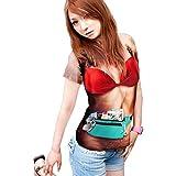 PUMA 水着 STARDUST とびだせ! 水着 3D Tシャツ 超 リアル イベント 下着 景品 男女兼用 おもしろ 服 4種 タンクトップ 半袖 (女性バージョン Tシャツ XLサイズ) MI-MIZUGIT-1-TS-XL