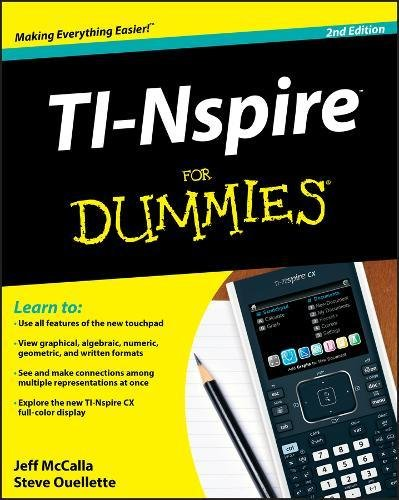 TI-Nspire For Dummies (For Dummies (Computer/Tech))