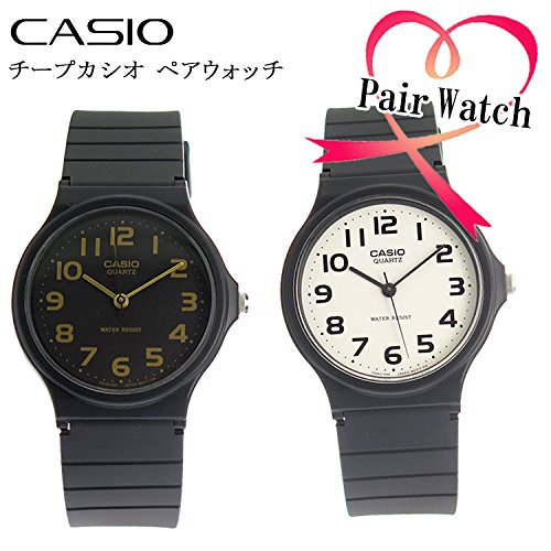 【ペアウォッチ】 カシオ CASIO クオーツ 腕時計 MQ...