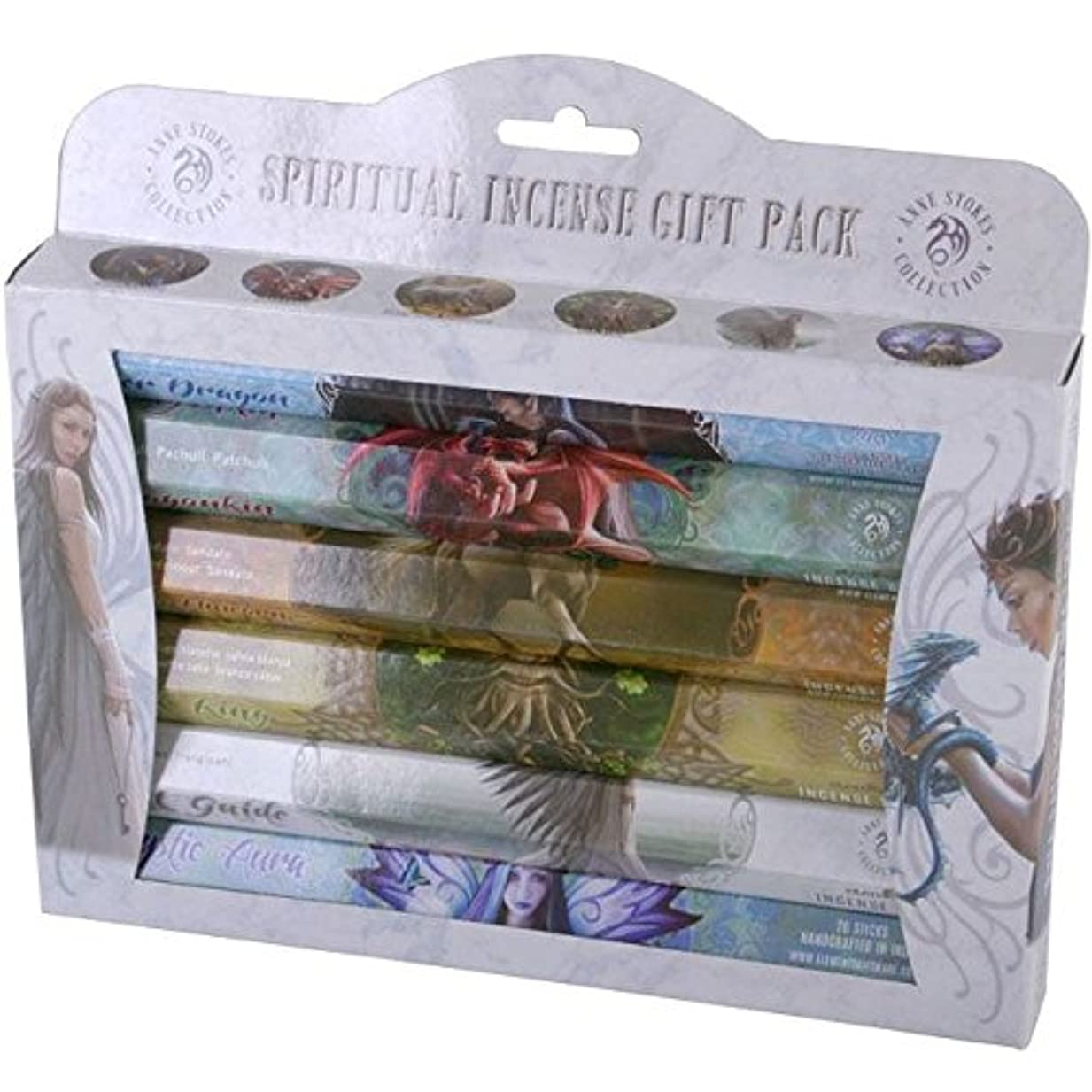 スマートジャンピングジャック吸収Spiritual Incense Stick Gift Pack by Anne Stokes