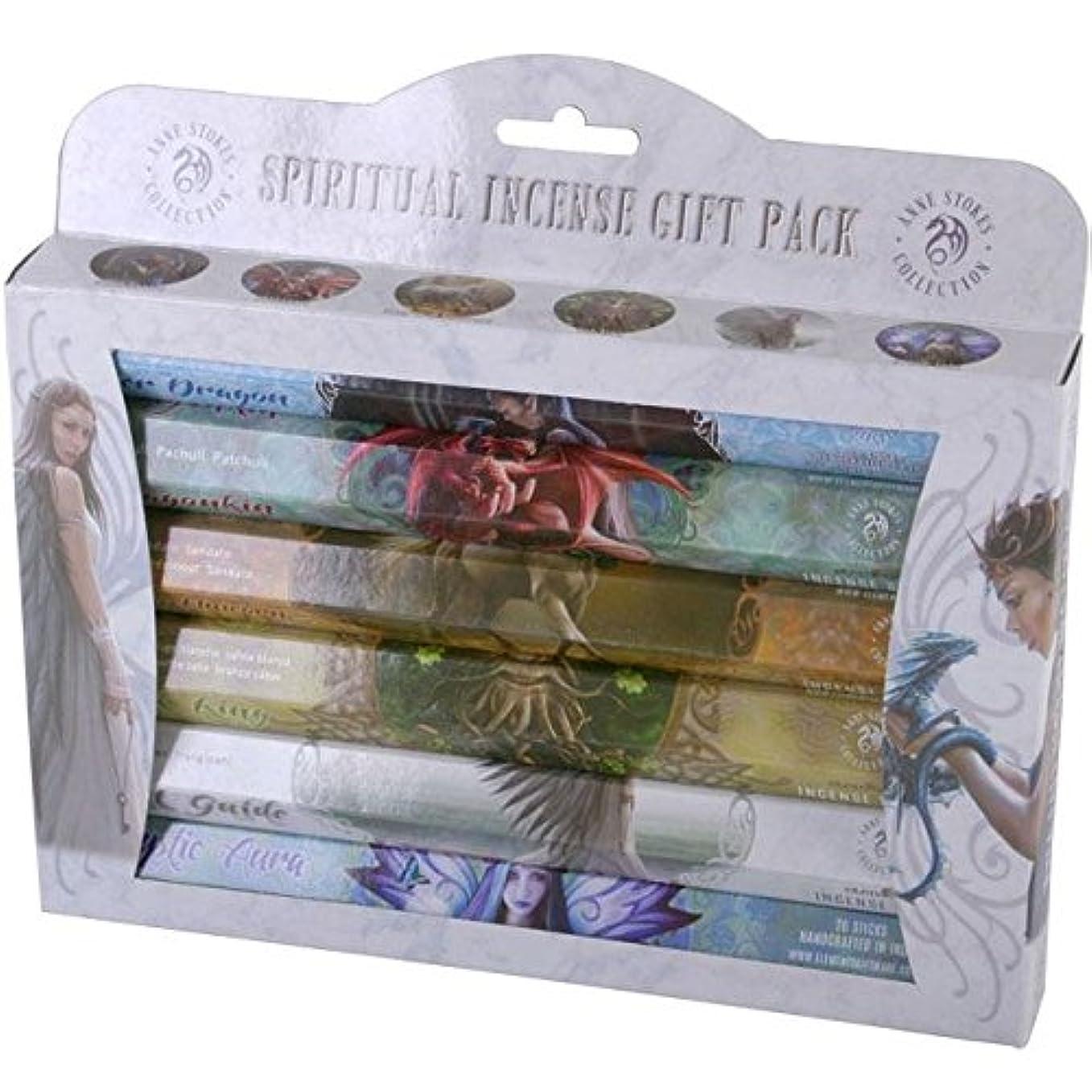 引っ張る欠乏クリアSpiritual Incense Stick Gift Pack by Anne Stokes