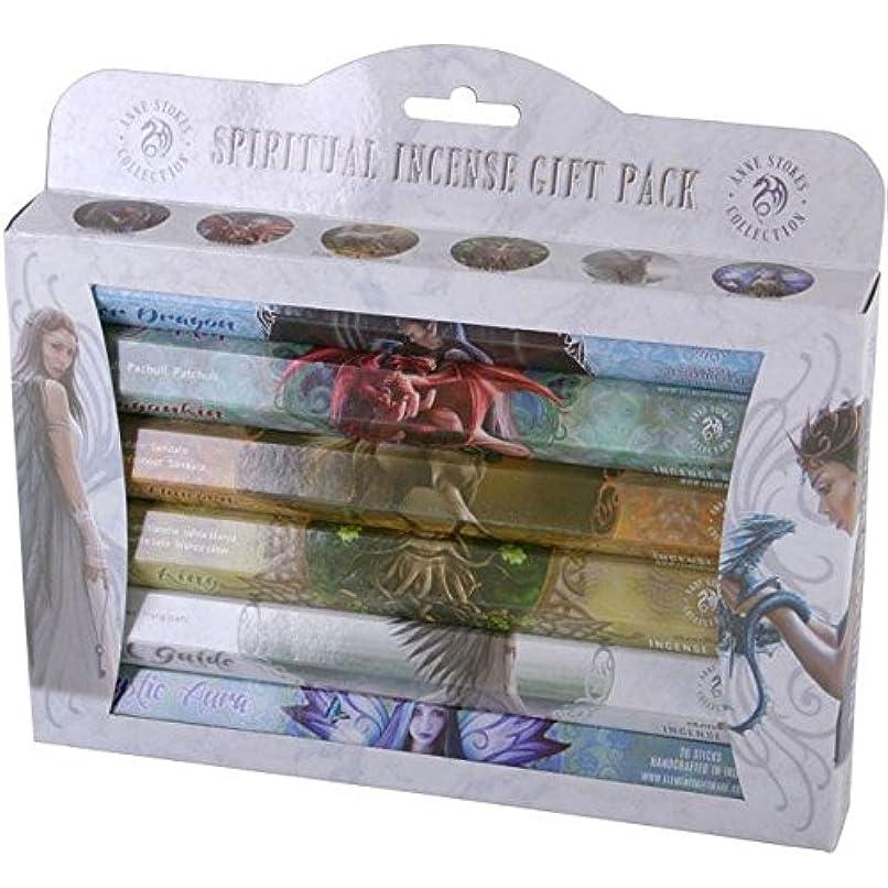 害虫シェルター一緒Spiritual Incense Stick Gift Pack by Anne Stokes