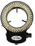 jambroom 実体 顕微鏡 用 LEDリングライト 照明 装置 LED144個 【 長寿命の高輝度144灯LEDを搭載 】 黒