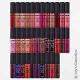 6 NYX ソフト 艶消し 唇クリーム 『お好きな6色を選べます』 『喜びの化粧』