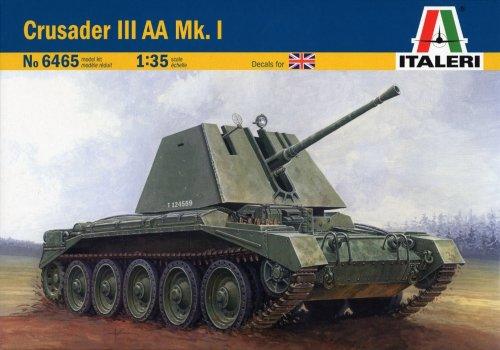 タミヤ イタレリ 1/35 ミリタリーシリーズ 6465 1/35 クルセーダーIII 対空戦車 Mk.I 38465