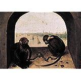 アートデリ ポスター DXポスター ピーテル・ブリューゲルのアートポスター Pieter Bruegel A1 P-A1-FIN-BRUE-0003