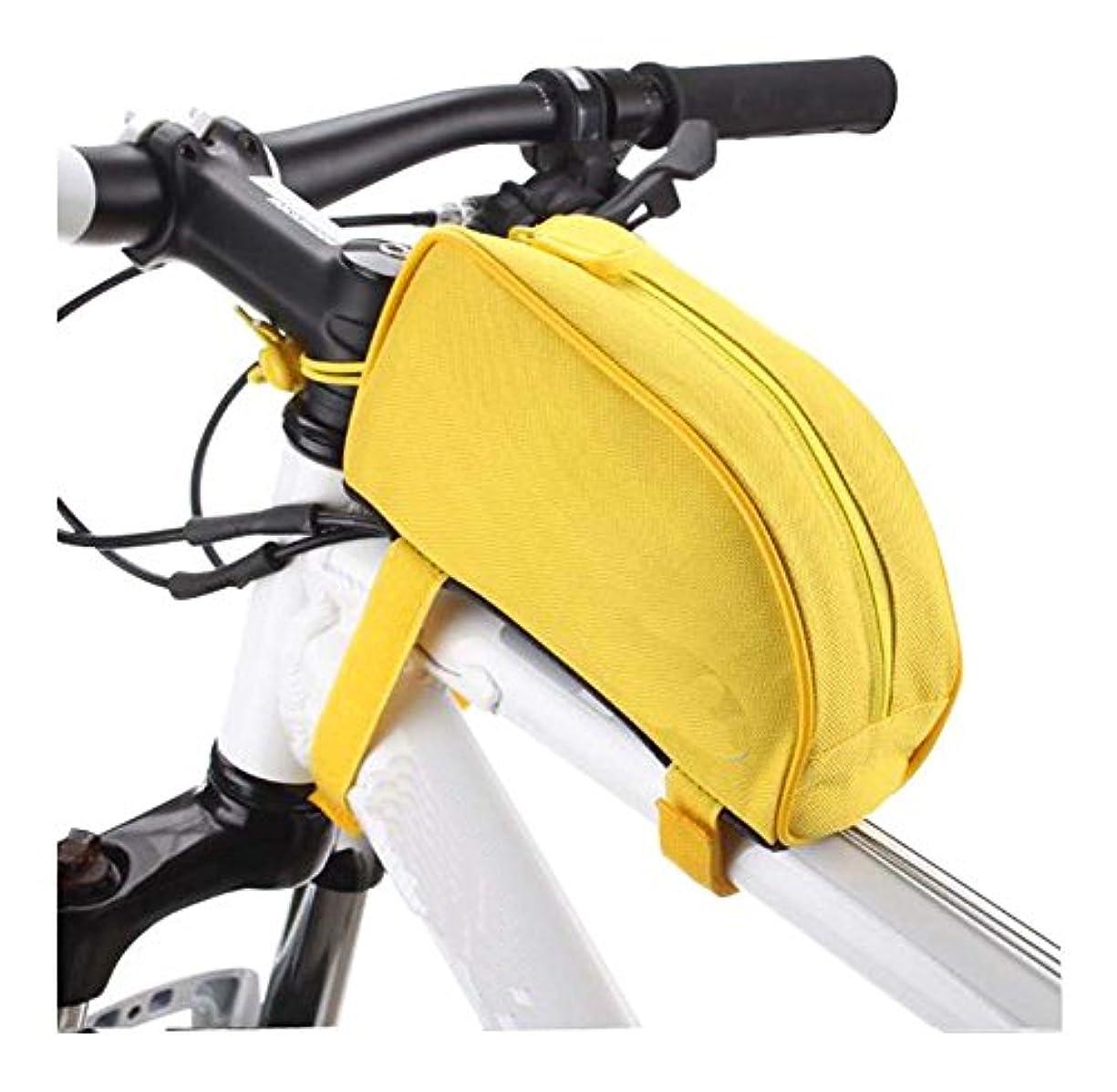 恥オフ拮抗するマウンテンバイクフロントバッグ、自転車バッグ、自転車アクセサリーバッグ、収納袋、E1