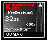 Komputerbay 32ギガバイト 専門家 コンパクトフラッシュカード CF 600X 90メガバイト/秒 極端なスピード UDMA 6 RAW 32 GB Compact Flash Card