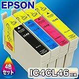 上海問屋オリジナル インターネットラジオソフト &  互換インク EPSON エプソン プリンタ用インク IC4CL46 4色セット [満足保証付き]