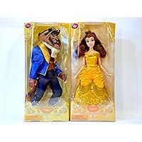 ディズニー映画?「美女と野獣」より Classic Disney Princess Belle / Beast Doll (クラッシック?ディズニー?プリンセス?ベル / ビースト?ドール)約30cm 2体セット
