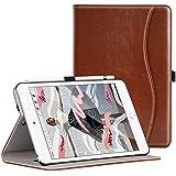 Ztotop iPad Mini5 2019 ケース 高級PUレザー製 オートスリープ機能 ペンシル収納 カードポケット付き 手帳型 全面保護 2019春発売の新モデルiPad Mini(第五世代)専用 スマートケース(ブラウン)