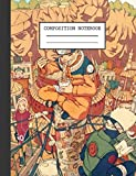 Composition Notebook: Naruto Manga Glossy Cover Wide Ruled Blank Lined Soft Cover Teenage Girls Boys Kids Adults Journal Paper 7.44 x 9.69 Inches 110 Pages