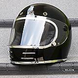フリップアップシールド付き フルフェイス ヘルメット (VT-9 ブラック/M) PSC/SG規格適合/全排気量対象商品/立花 タチバナ GT750 GT-750 旧車 族ヘル ビンテージ ハーレー アメリカン