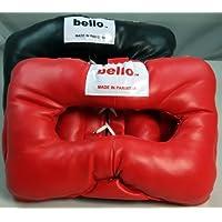 ボクシング& Martial Arts保護用ヘッドギア – ブラック&レッドセット( XL )