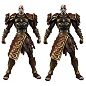 Player Select - Action Figure: Ares Armor Kratos / God of War II (Set of 2)