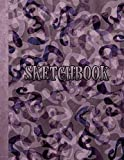 Sketchbook: Notebook for Sketching, Doodling, Painting, Drawing or Writing 8.5 x 11 100 Pages, 8.5 x 11 (Pretty Cute Abstract Cover Vol. 91) (Jolly Pockets Sketchbooks)