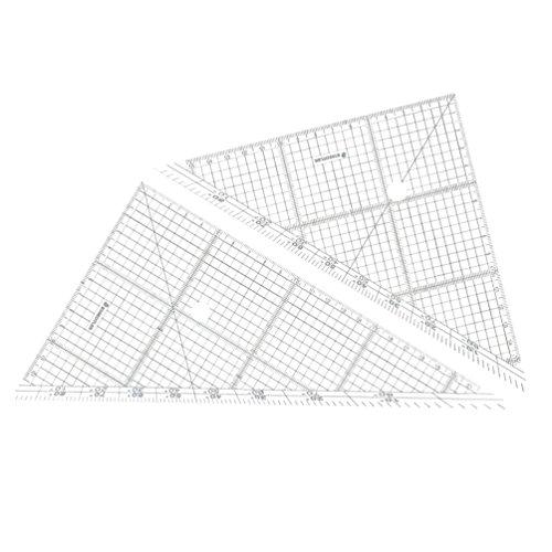 ステッドラー 三角定規 製図 セット レイアウト用 24cm 966 24
