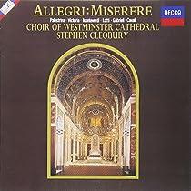 アレグリ:ミゼレーレ/ルネサンス宗教曲集