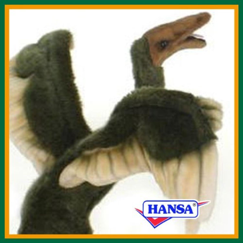 HANSA ハンサ ぬいぐるみ 5566 始祖鳥 34 ARCHAEOPTERYX