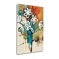""" Floral and Still Life Trance I "" by Natasha Barnes、アートジークレーギャラリーラップキャンバスの印刷、ハングする準備"