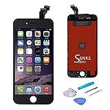 iPhone6フロントパネル 4.7インチ 液晶パネル LCD スクリーン 修理パーツ 黒