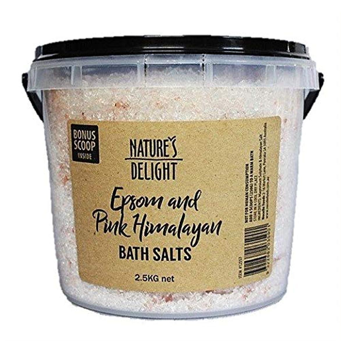 哀とても多くの事業内容ヒマラヤ岩塩 エプソムソルト&ピンクヒマラヤ バスソルト 2.5kg 専用計量スプーン付