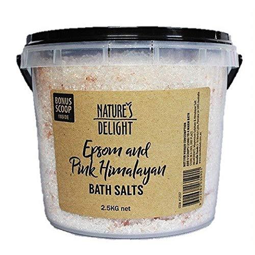 塩風呂に入る