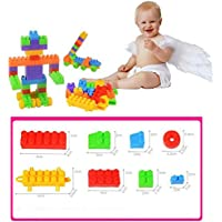 OYDクラシック構築可能なバッグ、教育Building Blocks DIY Toy BulidingレンガToys for Kids Gifts、100ピース