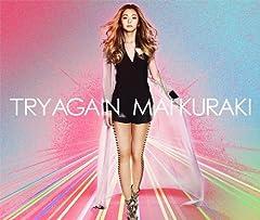 倉木麻衣「TRY AGAIN」のCDジャケット